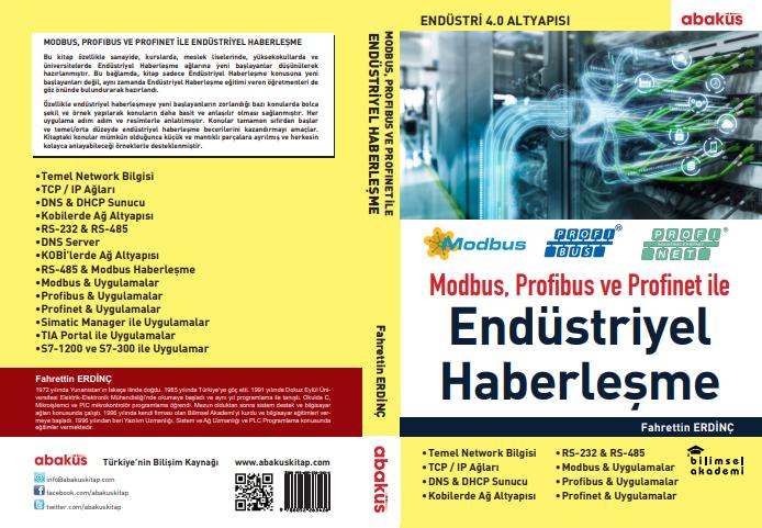 Modbus, Profibus ve Profinet'le Endüstriyel Haberleşme Kitabı